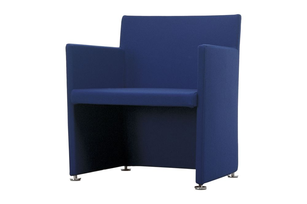 Phill 600,Cappellini,Armchairs,blue,chair,cobalt blue,electric blue,furniture