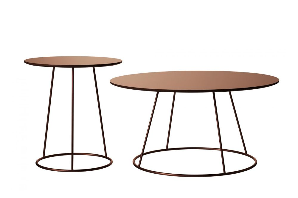 Breeze Copper Table by Swedese