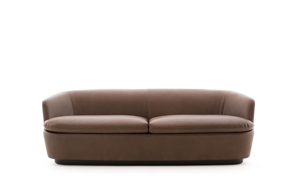 Phill 600,Cappellini,Sofas,beige,brown,chair,couch,furniture,leather,loveseat,sofa bed,studio couch