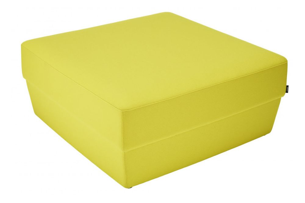 40 x 40, Main Line Flax Newbury,Swedese,Footstools,furniture,rectangle,yellow