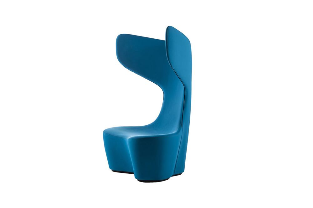 Bielastico Color Nero,Cappellini,Armchairs,chair,teal,turquoise