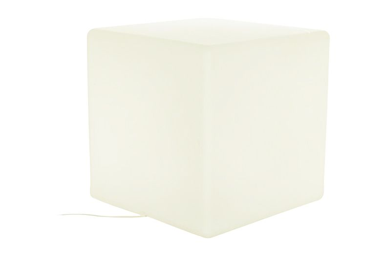 Cube Lit Side Table by One Foot Taller
