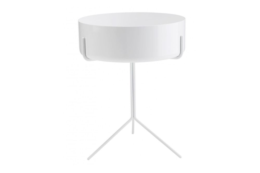 Drum Low Bowl Table by Swedese