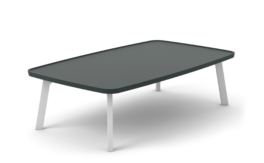 Super-Matt Oak, White Texturised Lacquered,Punt,Coffee & Side Tables,coffee table,furniture,outdoor table,rectangle,table