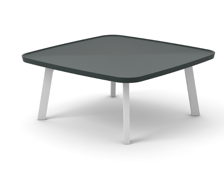 Super-Matt Oak, White Texturised Lacquered,Punt,Coffee & Side Tables,coffee table,end table,furniture,outdoor table,rectangle,table