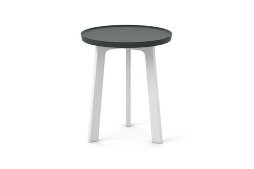White Texturised Lacquered, Super-Matt Oak,Punt,Coffee & Side Tables,bar stool,furniture,outdoor table,stool,table
