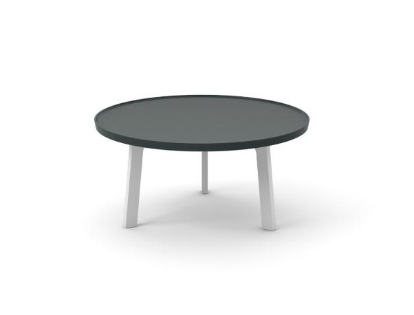 Super-Matt Oak, White Texturised Lacquered,Punt,Coffee & Side Tables,coffee table,furniture,outdoor table,table
