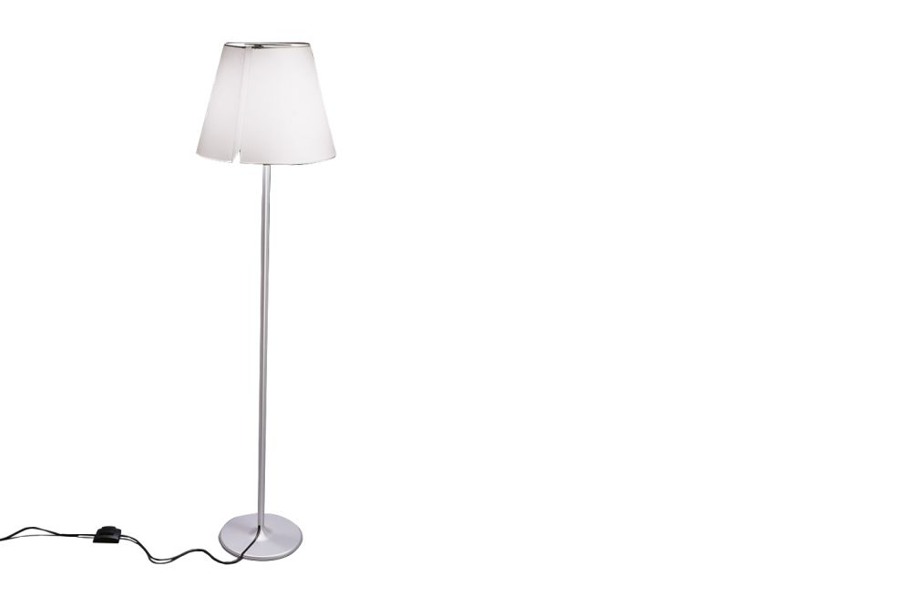 Aluminium Grey,Artemide,Floor Lamps,lamp,lampshade,light fixture,lighting,lighting accessory