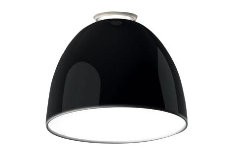 Glossy White,Artemide,Ceiling Lights,black,ceiling,lampshade,light fixture,lighting,lighting accessory,product