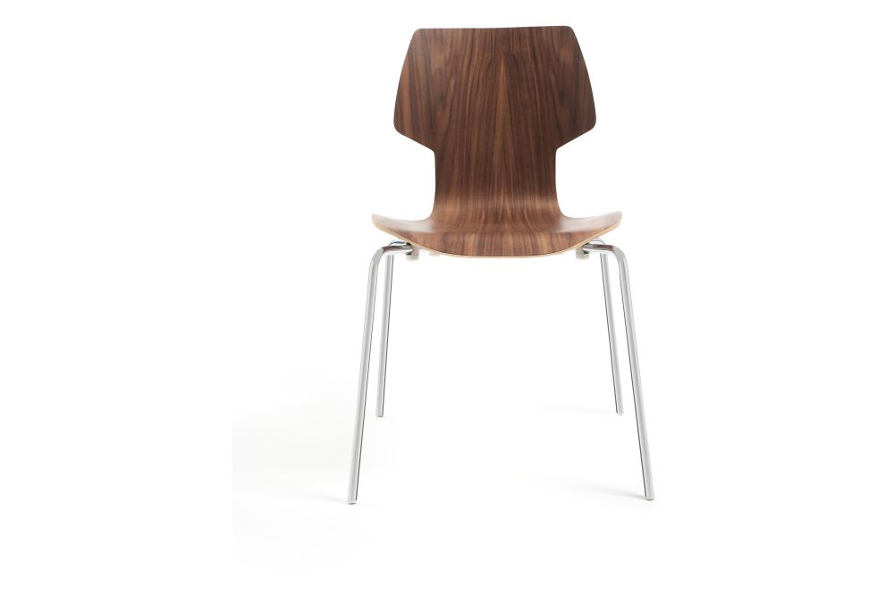 Walnut Plywood, White,Mobles 114,Dining Chairs,chair,furniture,plywood,wood
