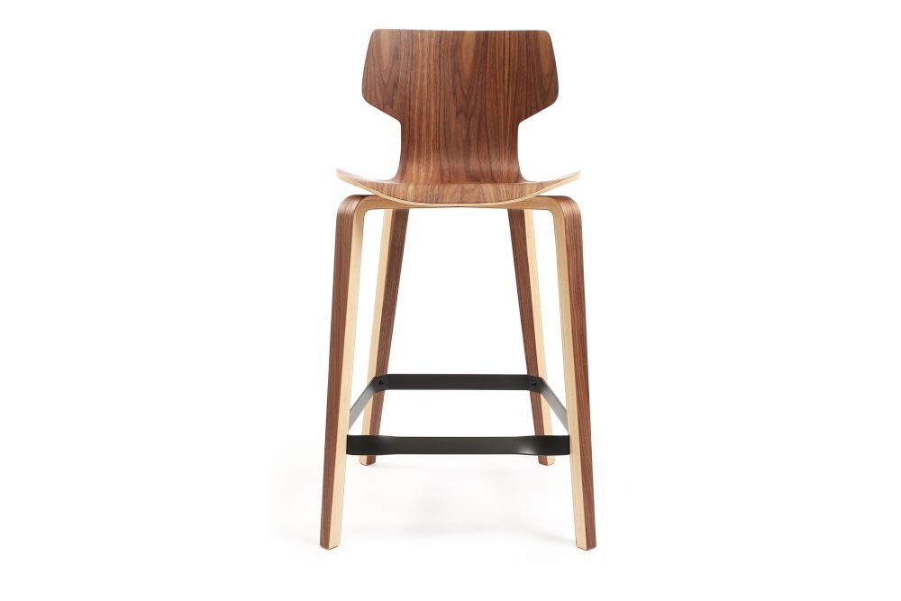 Walnut veneer,Mobles 114,Stools,bar stool,furniture,stool,wood