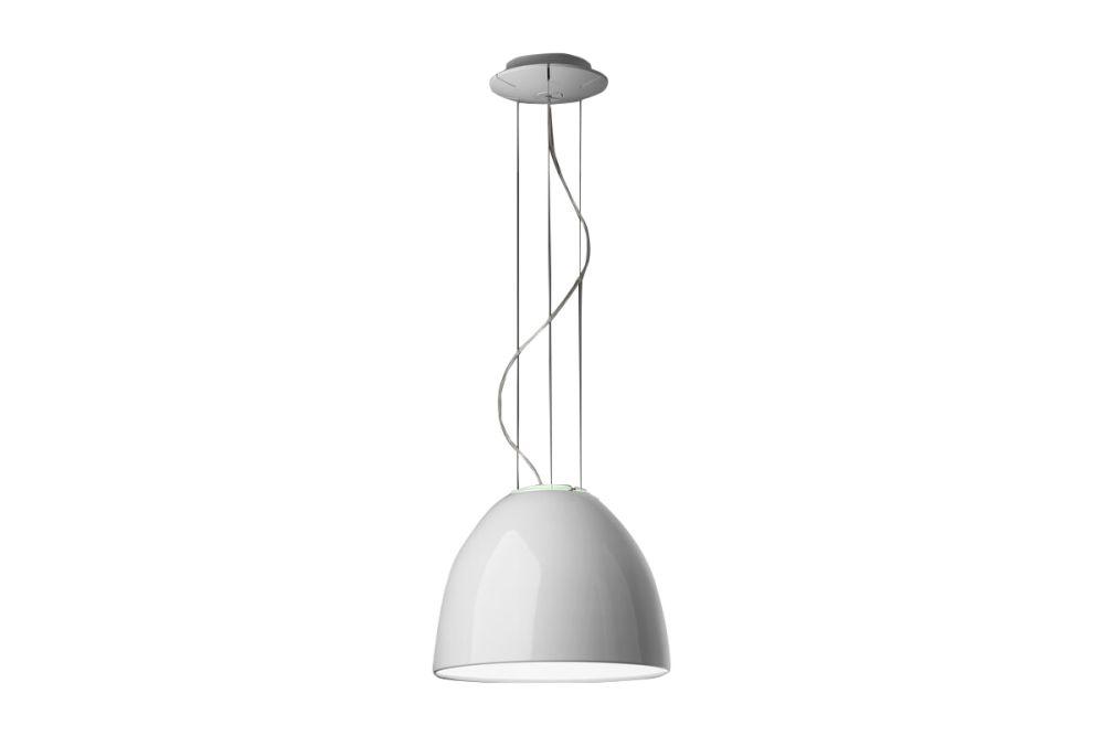 Glossy White,Artemide,Pendant Lights,ceiling,ceiling fixture,lamp,light,light fixture,lighting