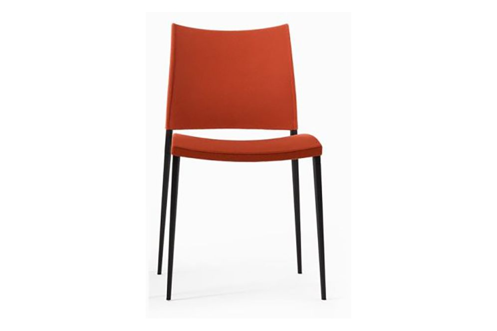 Sand Upholstered Dining Chair - Stackable by Desalto