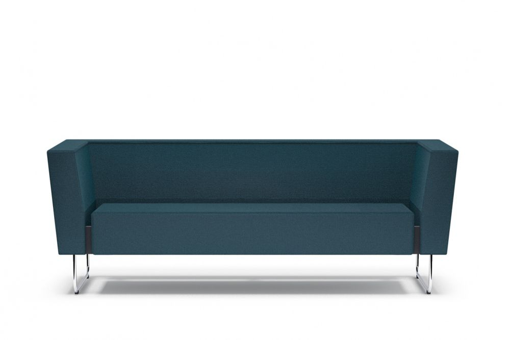 175, White Steel, Main Line Flax Newbury,Swedese,Sofas,blue,couch,furniture,rectangle,table,teal,turquoise
