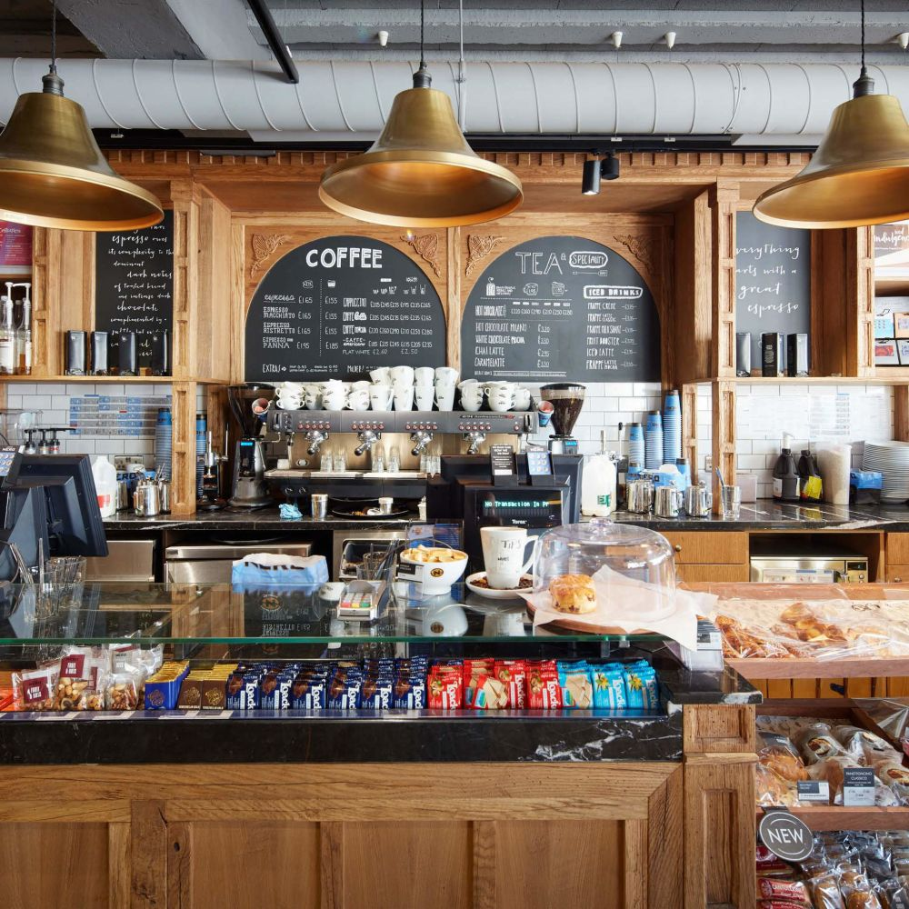 Featured Project: Caffee Nero