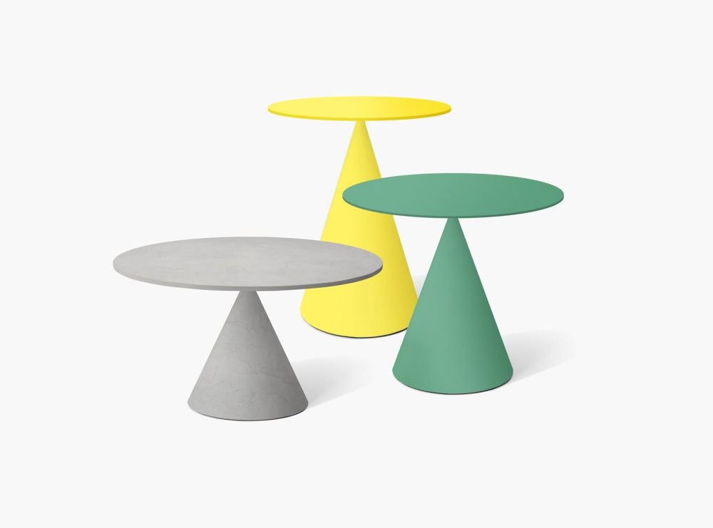 B62 Matt White, 50,Desalto,Coffee & Side Tables,furniture,stool,table