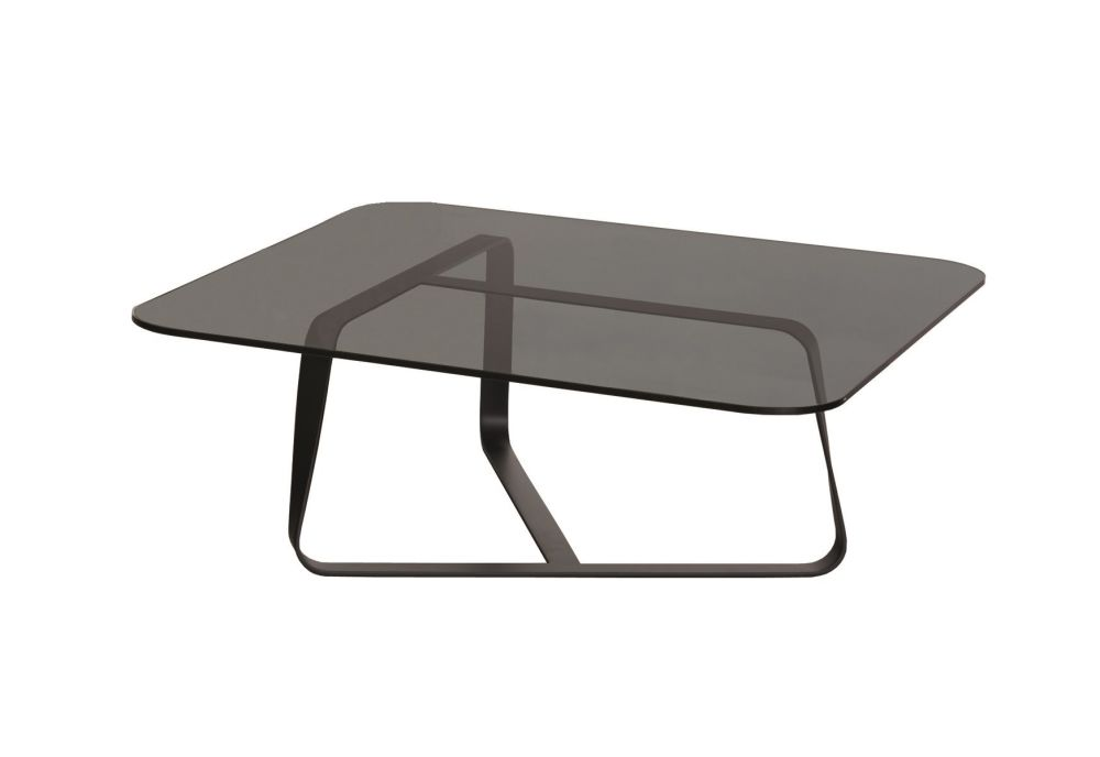 B59 Matt Black, E71 Extra Clear,Desalto,Coffee & Side Tables,coffee table,end table,furniture,outdoor table,table