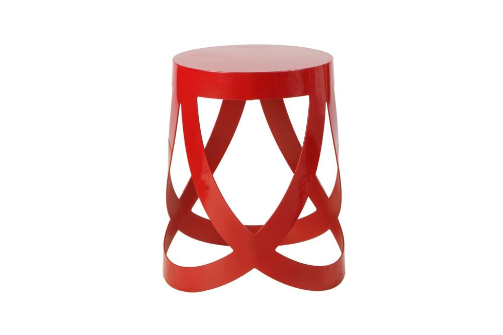 Ribbon 5Ro,Cappellini,Stools,bar stool,furniture,red,stool,table