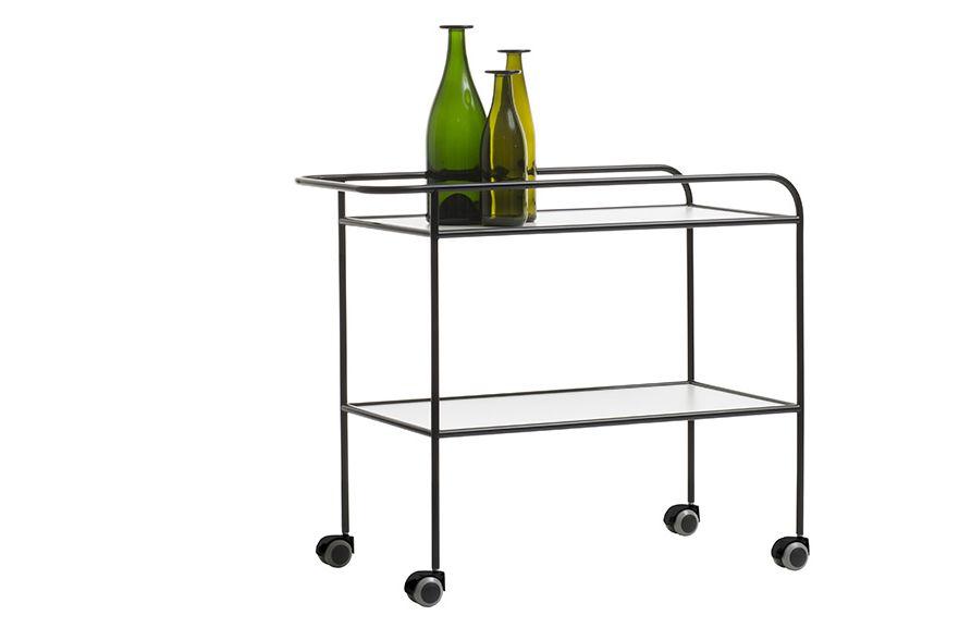Steel Pipe Drink Trolley (1968) by Cappellini
