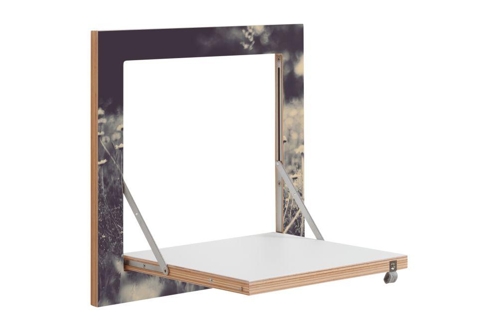 White,AMBIVALENZ,Bookcases & Shelves,furniture,mirror,shelf,table