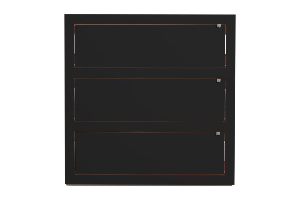 White,AMBIVALENZ,Bookcases & Shelves,black,door,drawer,furniture,rectangle