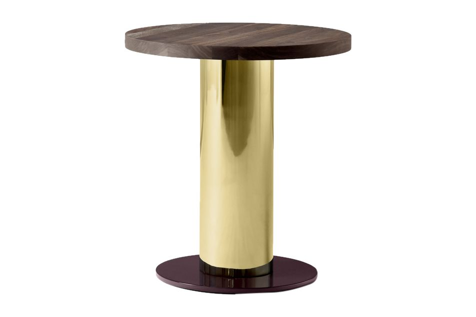 Nero Marquina, Brass & Burgundy,&Tradition,Coffee & Side Tables,furniture,table