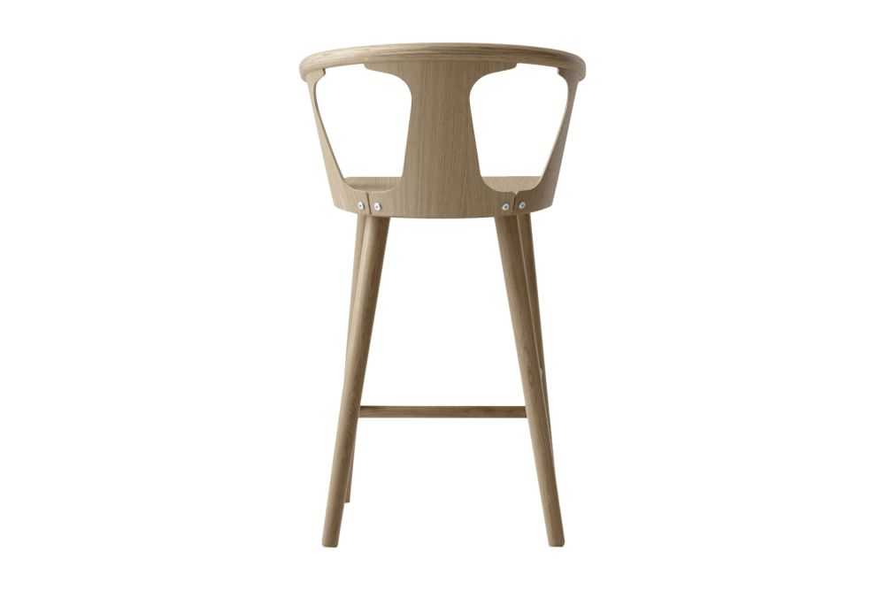 White oiled oak,&Tradition,Stools,bar stool,beige,chair,furniture,stool
