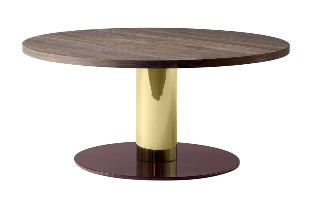 Nero Marquina, Brass & Burgundy,&Tradition,Coffee & Side Tables,coffee table,end table,furniture,material property,outdoor table,table,wood