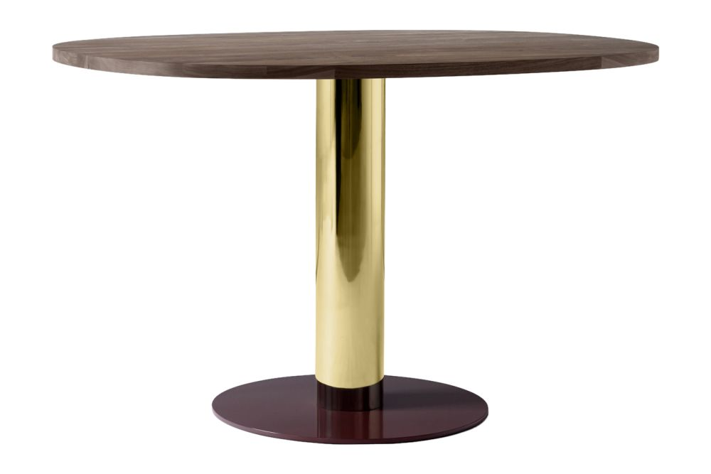 Nero Marquina, Brass & Burgundy,&Tradition,Dining Tables,end table,furniture,material property,outdoor table,table