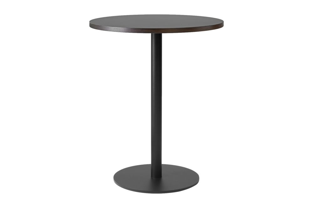 Black & Smoked oak,&Tradition,Dining Tables,end table,furniture,material property,outdoor table,table