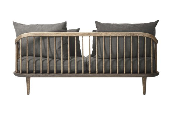 White oiled oak, Remix 2 113,&Tradition,Sofas,bed,bed frame,bedding,brown,couch,furniture,product,studio couch