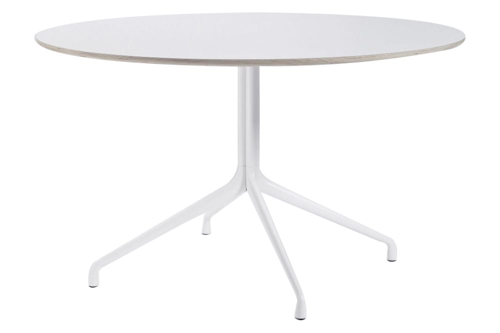 Laminate White / Laminate White, �� 128,Hay,Dining Tables,coffee table,end table,furniture,outdoor table,table