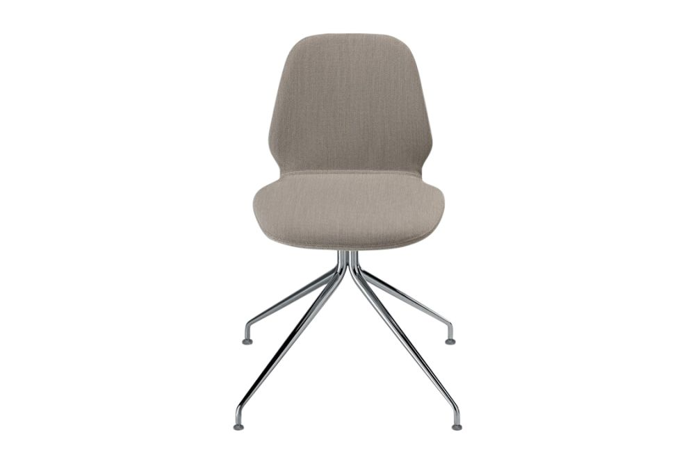 Synthetic Leather Stamskin Top - 07422, Stove Enamelled Steel - A009,Alias,Conference Chairs,beige,chair,furniture,line,office chair