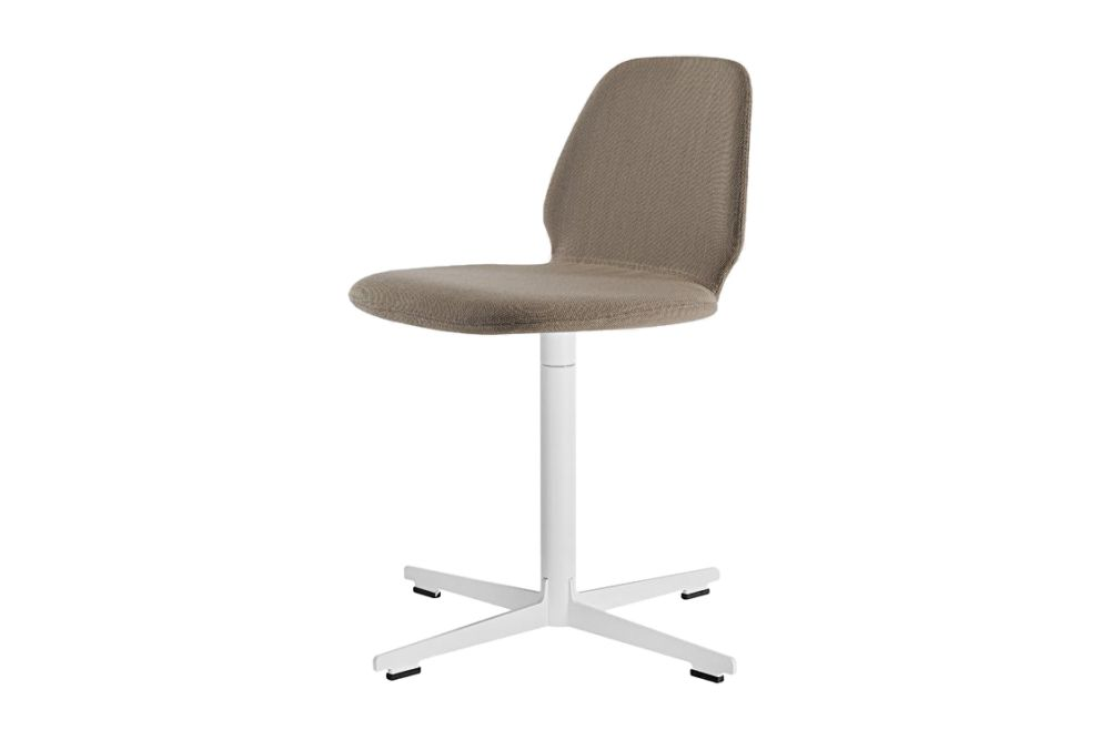 Synthetic Leather Stamskin Top - 07422, Stove Enamelled Steel - A009,Alias,Conference Chairs,beige,chair,furniture,line,product