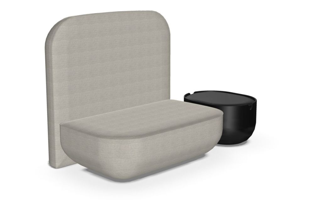 Okome O01 Sofa with Table by Alias