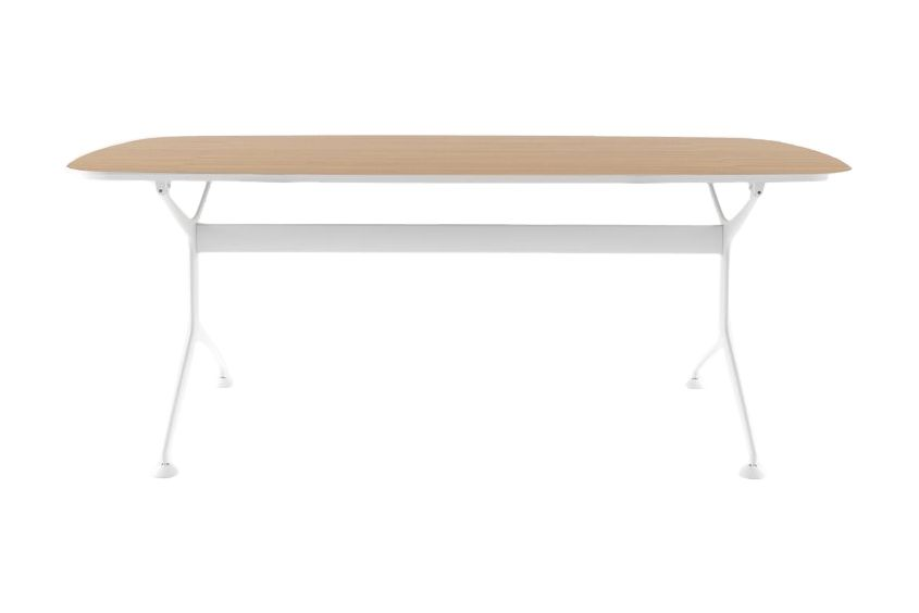 Glass - VTT, Stove Enamelled Aluminium - A009, 190cm,Alias,Conferencing Tables,coffee table,desk,furniture,outdoor table,oval,rectangle,table
