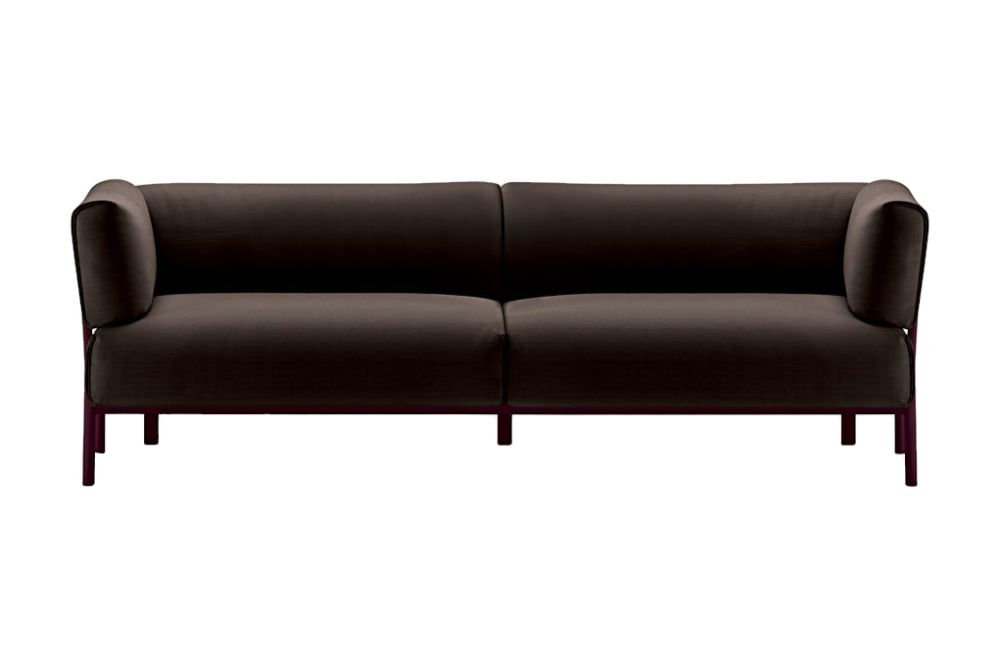 Camira Urban - YN094, Stove Enamelled Aluminium - A009,Alias,Breakout Sofas,black,brown,couch,furniture,leather,outdoor sofa,sofa bed,studio couch