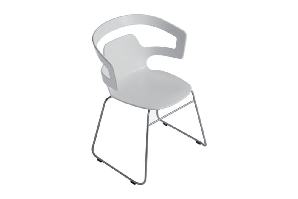 Plastic Material - H112, Chromed Aluminium - CR,Alias,Breakout & Cafe Chairs,chair,furniture