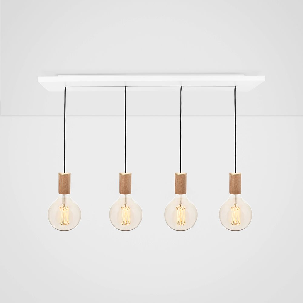 Gaia Oak Ceiling Light by Tala