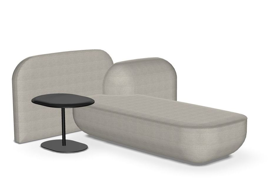 Stove Enamelled Steel - A022, Camira Urban - YN094,Alias,Breakout Sofas,armrest,chair,chaise longue,comfort,couch,furniture,product,studio couch