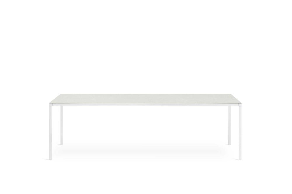 B62 Matt White, D85 Concrete, 52 x 52,Desalto,Dining Tables,coffee table,desk,furniture,outdoor table,rectangle,sofa tables,table,white