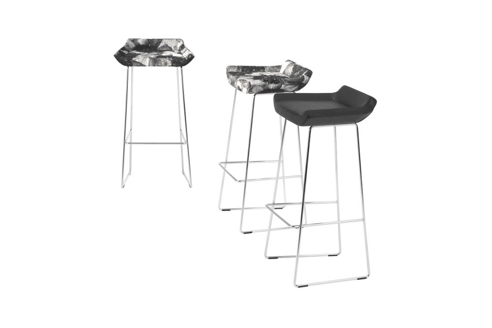 Happy Low Bar Stool by Swedese