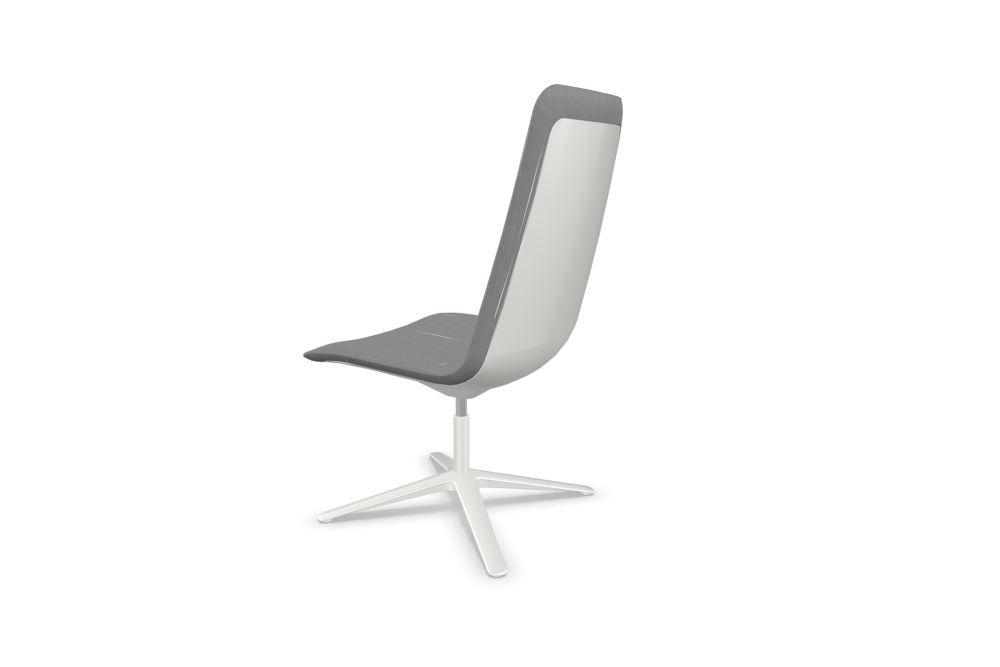 Slim Conference Medium 4 807 Plastic Back Side Chair by Alias