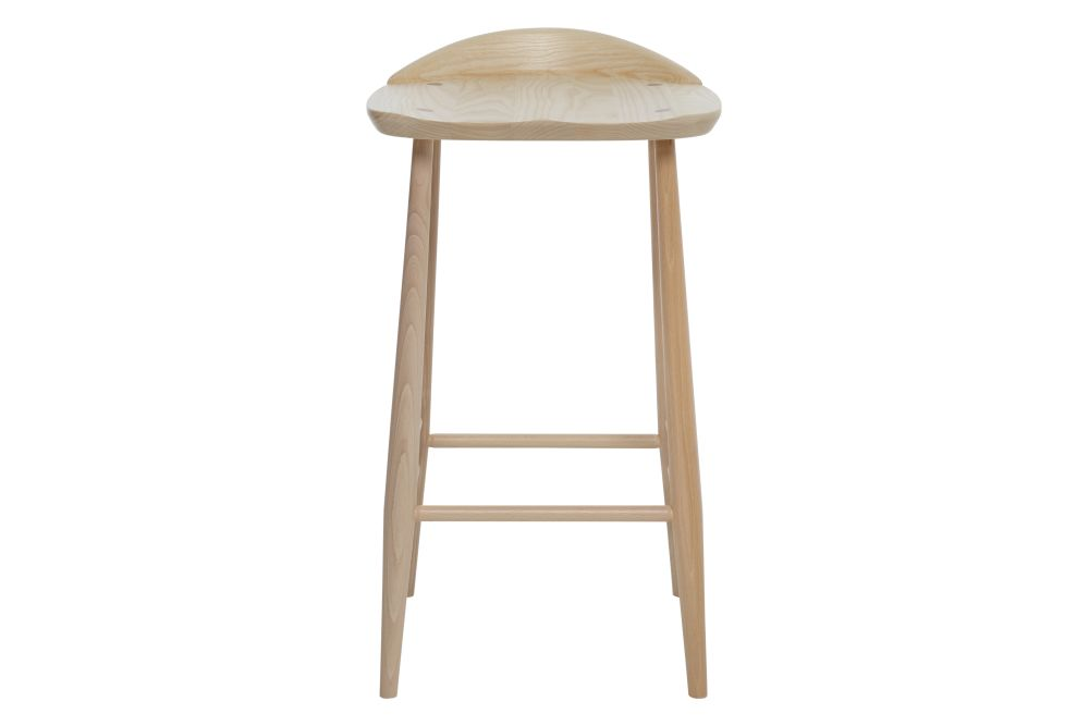 Darkened - DA, High,Ercol,Workplace Stools,bar stool,furniture,stool,table