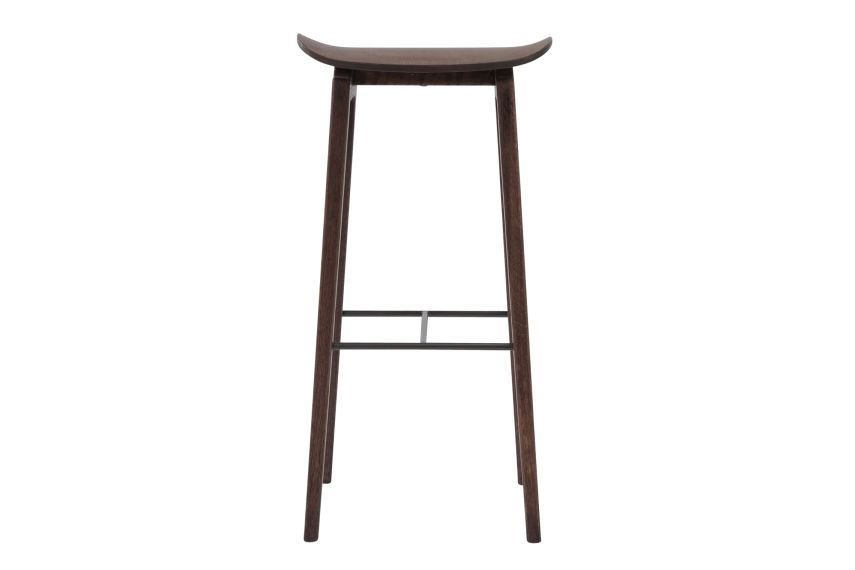 Oak Black, High,NORR11,Workplace Stools,bar stool,furniture,stool