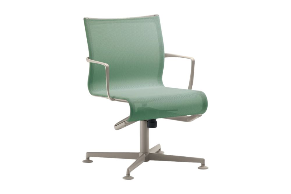 Mesh S - R028, Stove Enamelled Aluminium - A009,Alias,Conference Chairs,chair,furniture,line,material property,office chair