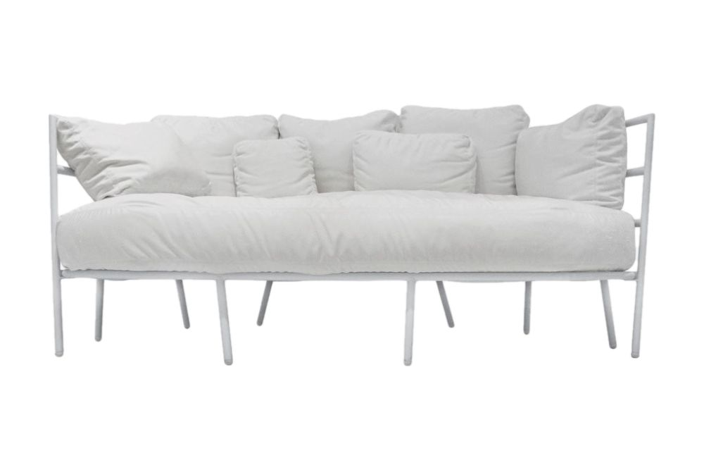 Stove Enamelled Steel - A019, 'Tempotest' Fabric - PT01,Alias,Sofas,chair,couch,furniture,sofa bed,studio couch,white