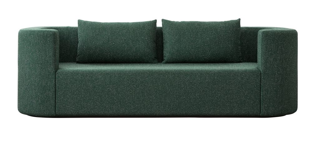 Harald 3 242,Verpan,Sofas,couch,furniture,green,sofa bed,studio couch