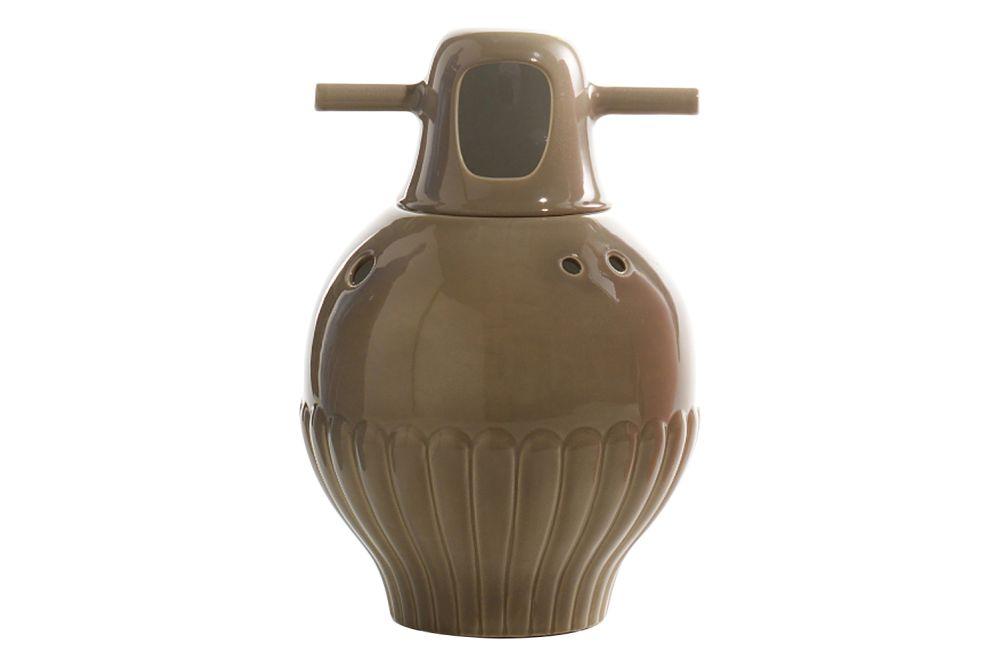 BD Barcelona,Vases,beige,brown,ceramic