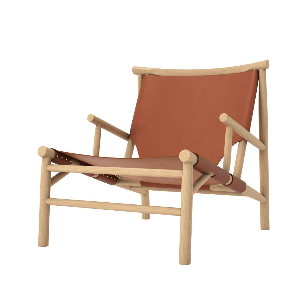 Harness Leather Cognac 97147,NORR11,Lounge Chairs,armrest,chair,folding chair,furniture,outdoor furniture